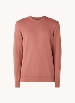 Profuomo Profuomo Sweater van katoen met logo