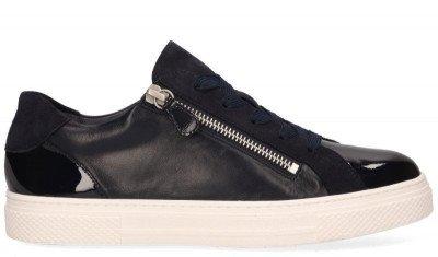 Hassia Hassia Bilbao Donkerblauw Damessneakers