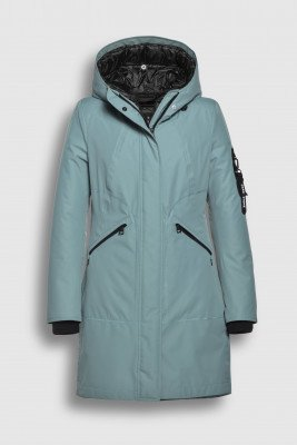 Creenstone Creenstone 3 in 1 Raincoat with detachable quilted jacket - Celadon