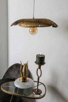 PTMD PTMD Hanglamp 'Lasse' Goud
