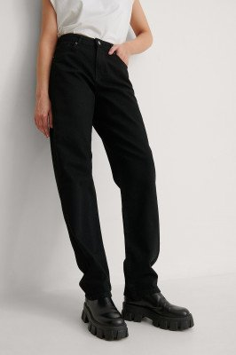 NA-KD Reborn NA-KD Reborn Organisch Jeans - Black