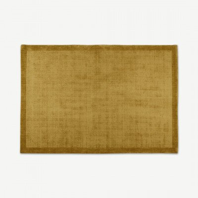 MADE.COM Jago vloerkleed, 200 x 300 cm, antiekgoud