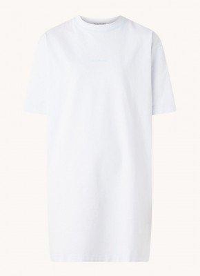 Acne Studios Acne Studios Erin T-shirt jurk met logoprint