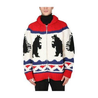 Dsquared2 Big Bear Zip Sweater