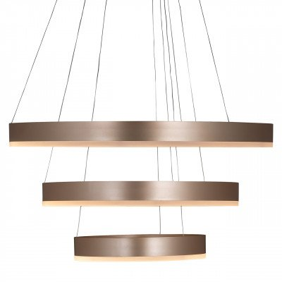 Richmond Interiors Richmond Hanglamp 'Jenna', 3-lamps, kleur Goud