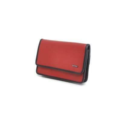 Berba Berba Dames Portemonnee Soft 001-196 Red Black