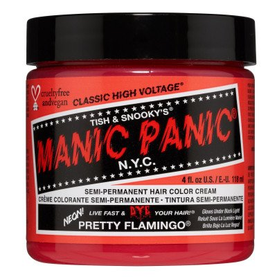 Manic Panic Manic Panic Classic High Voltage Semi-Permanent Hair Colour Pretty Flamingo