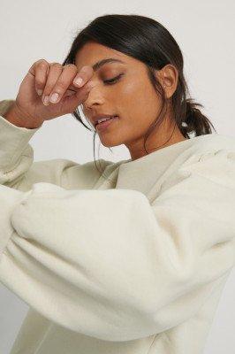 NA-KD Reborn NA-KD Reborn Organisch Sweater - Beige