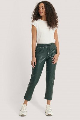MANGO Apple Trousers - Green