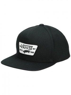 Vans Full Patch Snapback Cap zwart