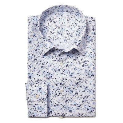 SKOT Fashion SKOT Fashion Duurzaam overhemd heren Blue Nature Fun - blauw
