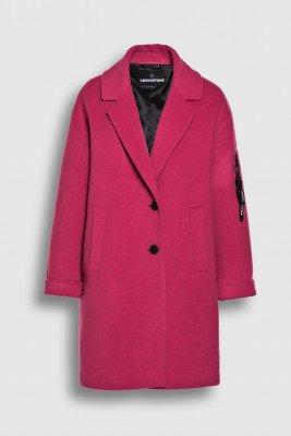 Creenstone Creenstone Wool cashmere blazer coat - Coral Pink