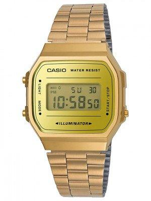 Casio Casio A168WEGM-9EF geel