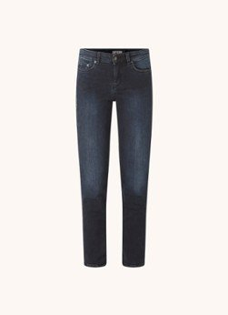 drykorn DRYKORN Need mid waist skinny fit cropped jeans met stretch