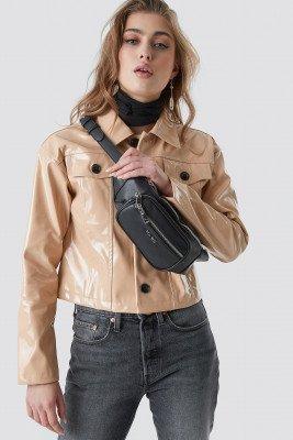 NA-KD Accessories NA-KD Accessories Zipper Fanny Pack - Black
