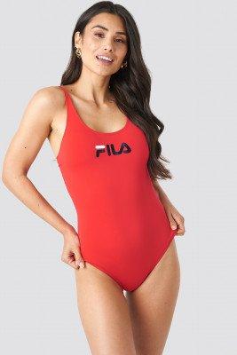 Fila FILA Saidi Swimsuit x NA-KD - Red