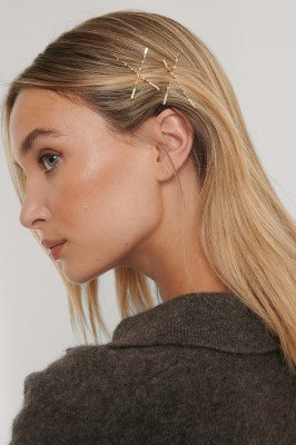 NA-KD Accessories NA-KD Accessories Haarspelden - Gold