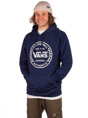 Vans Vans Authentic Checker Hoodie blauw