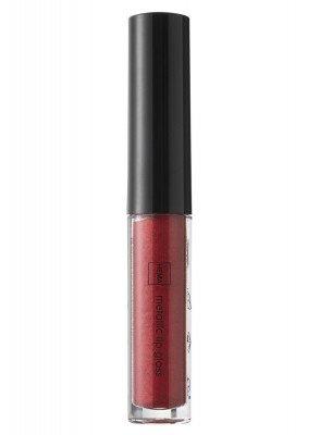 HEMA Metallic Lipgloss Shimmering Scarlet (donkerrood)