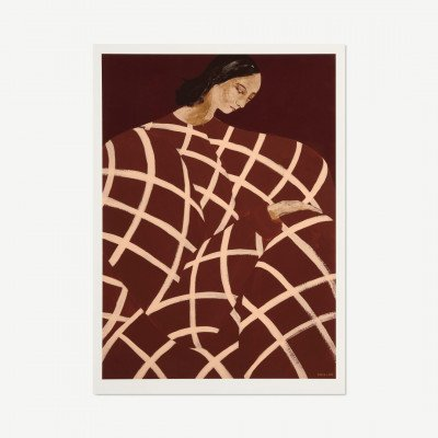 MADE.COM The Poster Club Waiting at Art et Metiers,, print door Sofia Lind, 70 x 100 cm