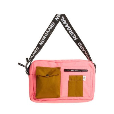 Mads Norgaard Mads Norgaard Bel Couture Cappa Bag Strawberry Pink/Breen