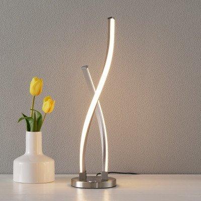 PAUL NEUHAUS Gedraaid gevormde LED tafellamp Polina