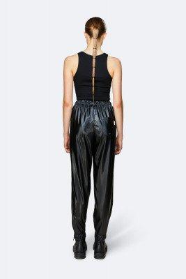 Rains Rains Dames Pants - Shiny Black