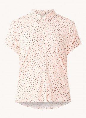 Samsøe en Samsøe Samsøe & Samsøe Majan blouse met stippenprint