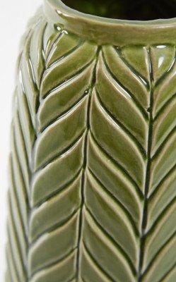 Light en Living Light & Living Vaas 'Lilo' 33cm, kleur Groen