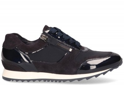 Hassia Hassia Barcelona Donkerblauw/Wit Damessneakers