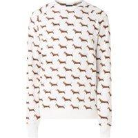 Snurk James sweater met dierenprint