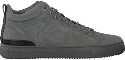 Blackstone Grijze Blackstone Hoge Sneaker Sg19