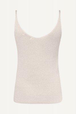 Ambika Ambika Shirt / Top Beige Singlet lurex
