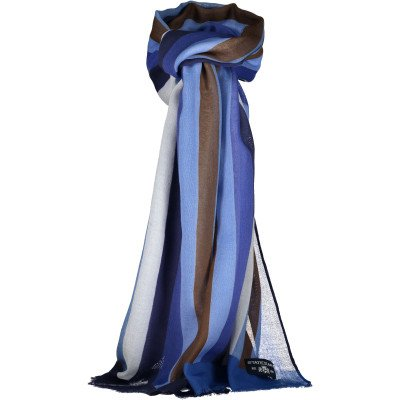 State of Art State of Art Shawl Striped With F