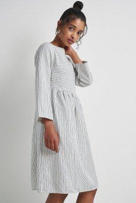Komodo Beach Fire Dress Pin Stripe / UK8, EU36 / White