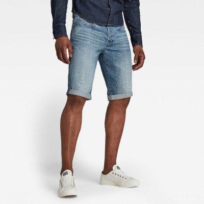 G-Star RAW 3301 Denim Shorts - Lichtblauw - Heren