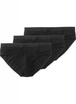 HEMA 3-pak Herenslips Zwart (zwart)