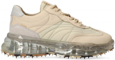 Bronx Beige Bronx Lage Sneakers Bubbly