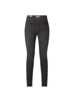 Levi's Levi's 724 high waist straight leg jeans met donkere wassing
