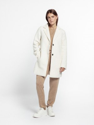 Beaumont Beaumont Boucle blazer - Off White