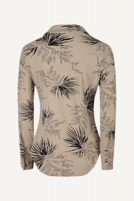 Ambika Ambika Blouse Beige Travel blouse