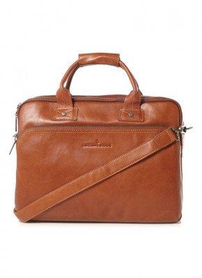 Castelijn & Beerens Castelijn & Beerens Firenze businesstas van leer met 15,6 inch laptopvak
