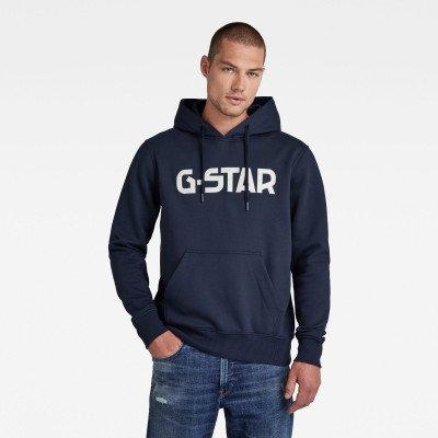 G-Star RAW G-Star Hoodie - Donkerblauw - Heren