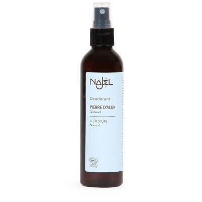 Natuurlijke Deodorant Spray met Aluinsteen - 125 ml Najel