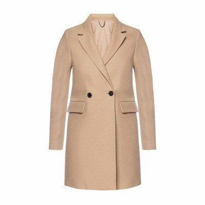 AllSaints 'Dree' coat with notched lapels