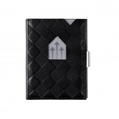 Exentri Exentri Leather Wallet Black Chess