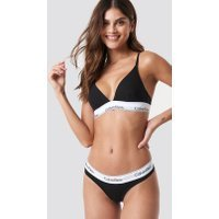 Calvin Klein Thong Modern Cotton - Black