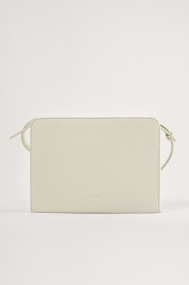 NA-KD Accessories NA-KD Accessories Gerecycleerd Crossbody Tas - Offwhite
