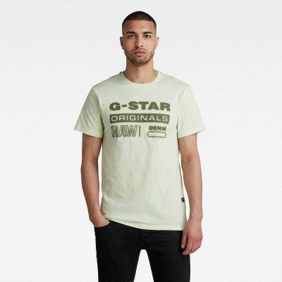 G-Star RAW Originals HD Graphic T-Shirt - Groen - Heren