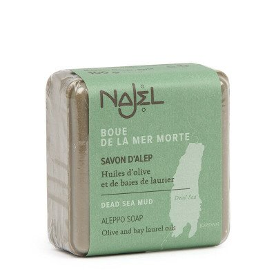 Najel Aleppo Zeep met Dode Zee Modder / Mineralen - 100 gram Najel